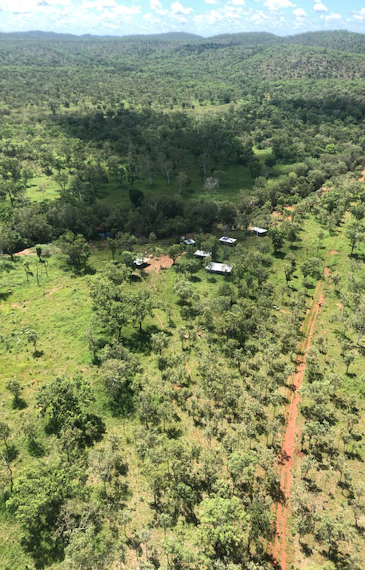 Mary River Station from the air!